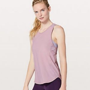 Lululemon Sculpt Tank II in Rose Blush, Size 4
